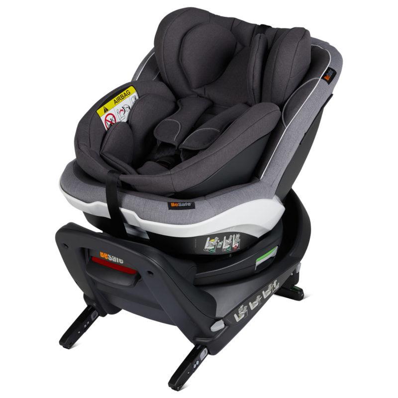 BeSafe iZi Twist B-E i-Size Car Seat Metallic Melange