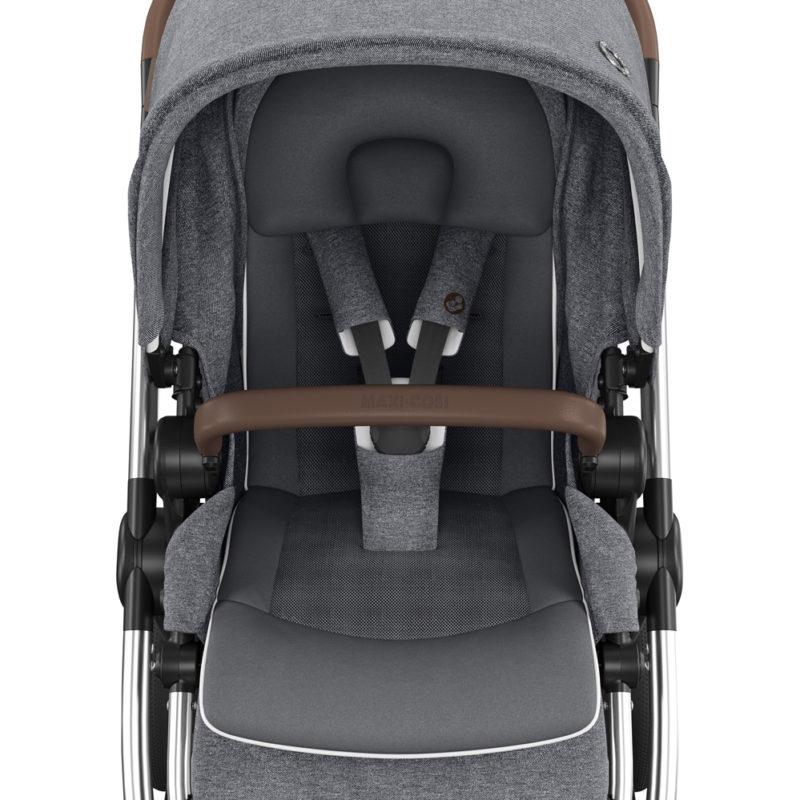 maxicosi stroller urban adorraluxe grey twilicgrey Cocooningseat
