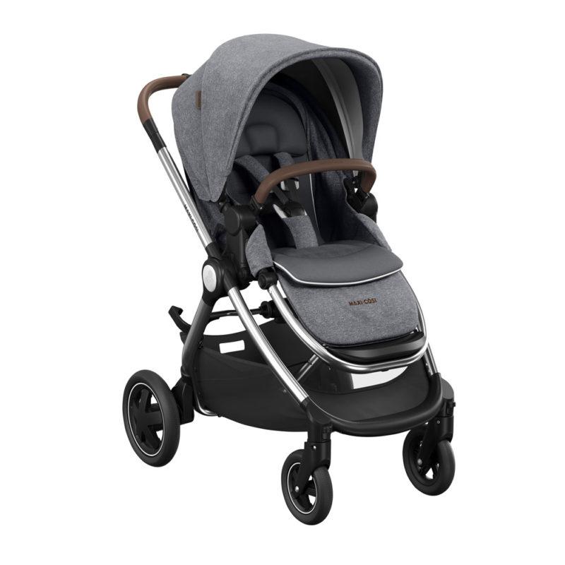 maxicosi stroller urban adorraluxe grey twilicgrey 3qrtright