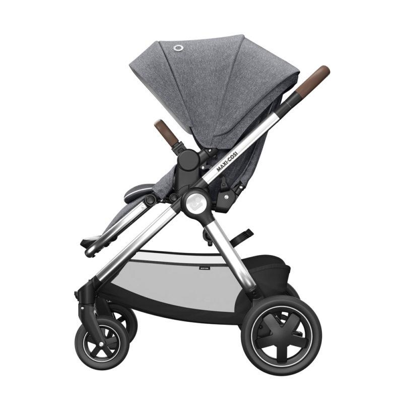 maxicosi stroller urban adorraluxe grey twilicgrey side