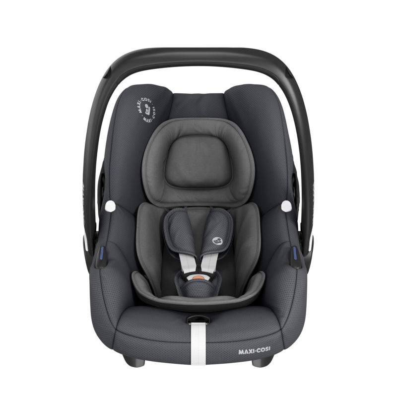 maxicosi carseat babycarseat marble grey essentialgraphite front