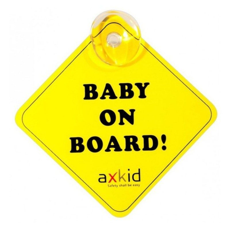 Axkid Baby on Board Sign