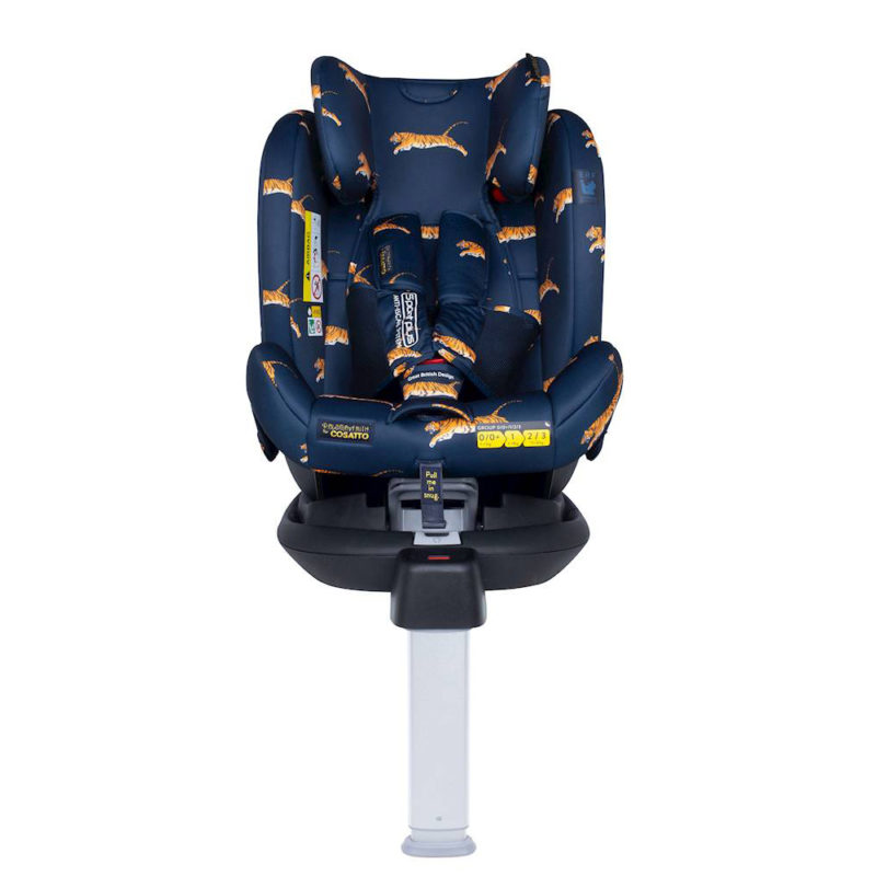 Cosatto All in All Rotate Group 0+123 Car Seat Paloma Tiger On the Prowl
