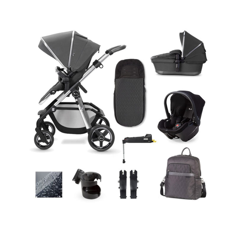 Silver Cross Pioneer 21 Simplicity Plus and IsoFix Base Bundle