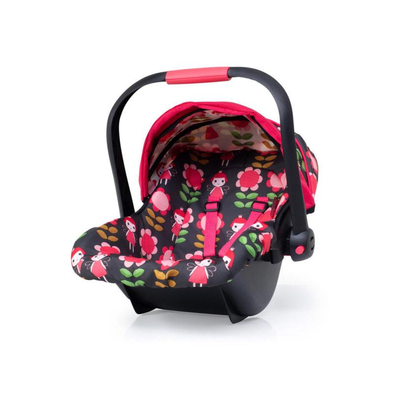 Cosatto Wonder Dolls Pram and Car Seat in Fairy Garden