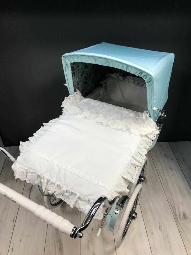 Baby Birds Dolls Pram Bedding Set + Mattress Main
