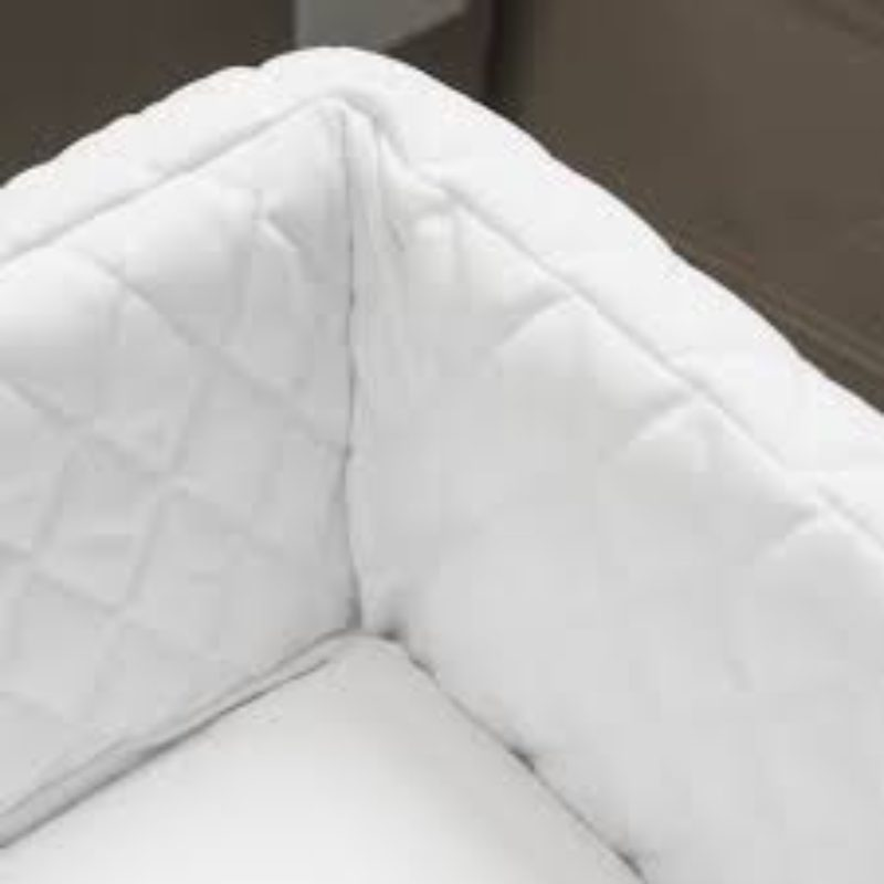 Baby Birds Kensington Quilted Fabric Bed Liner