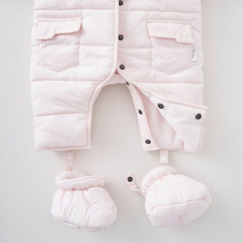 SX Pramsuit pink bottoms
