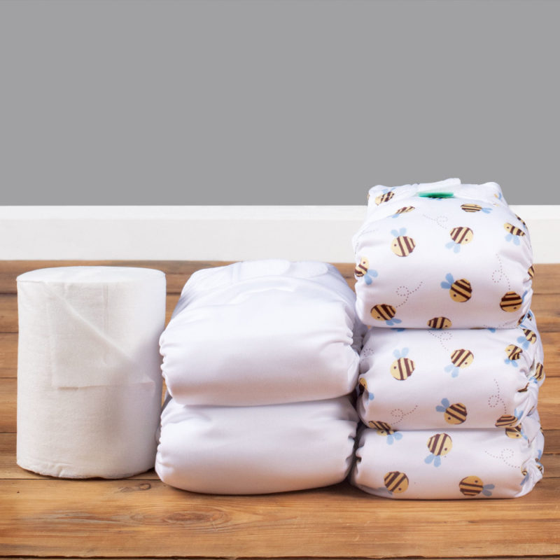 Teenyfit newborn all in one nappy kit