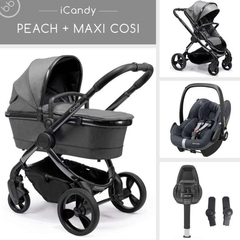 iCandy Car Seat Package