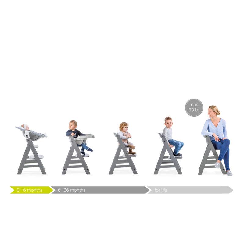 Hauck Alpha+ Select Highchair