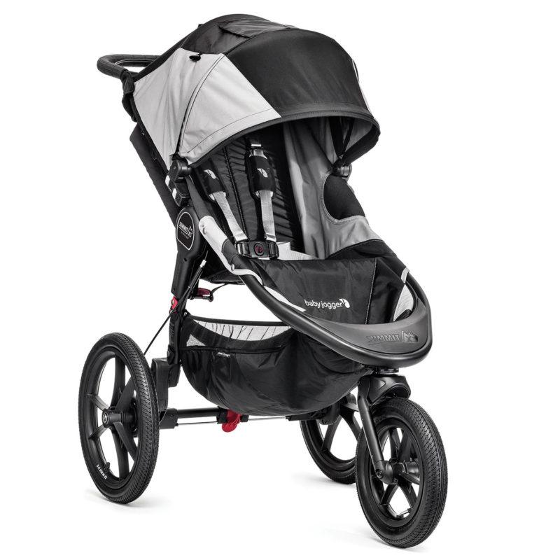 Baby Jogger Summit X3 - Black/Grey