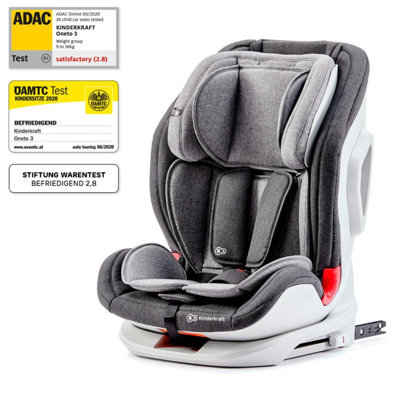 Kinderkraft ONETO3 Group 1/2/3 Car Seat