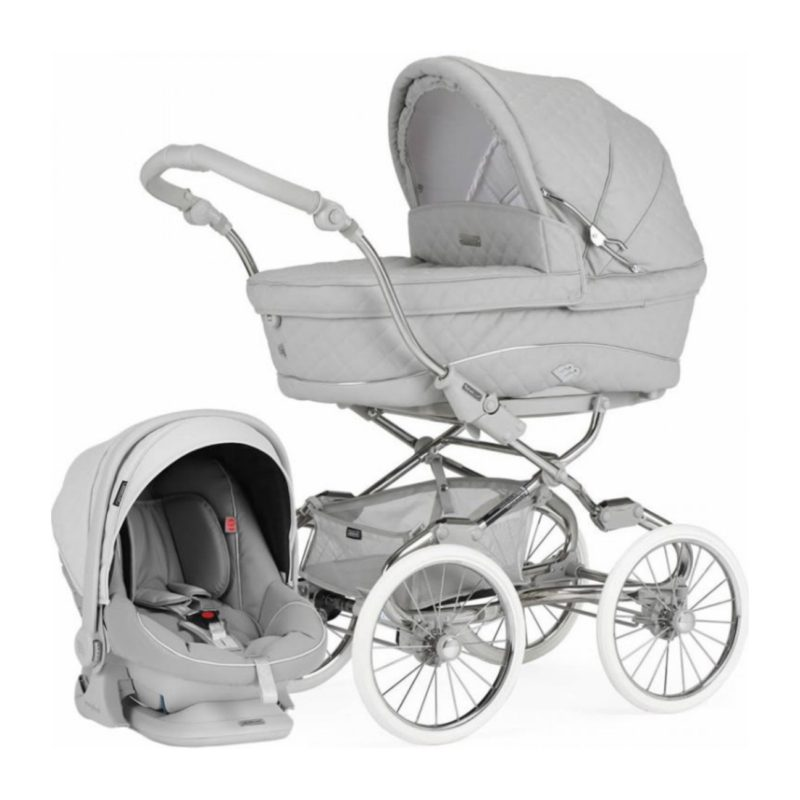 Bebecar Style Dusk Grey with Car Seat