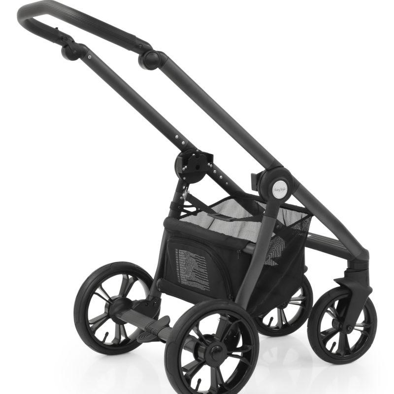 BabyStyle Active Grey Black Handle