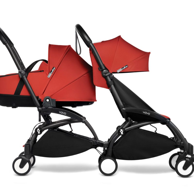 BabyZen Connect Sibling Red