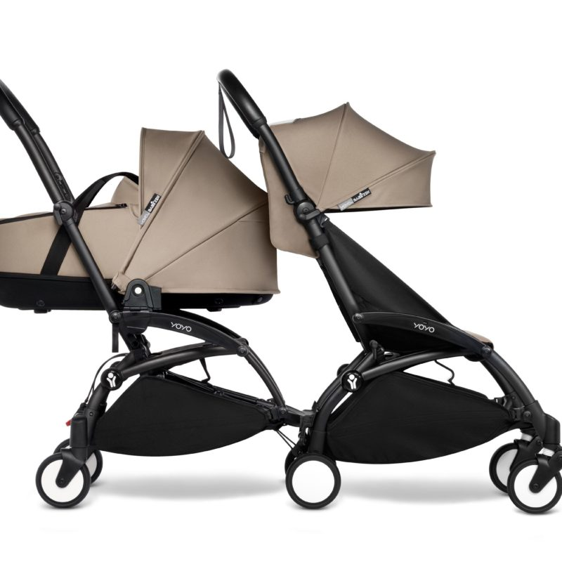 BabyZen Connect Sibling Taupe