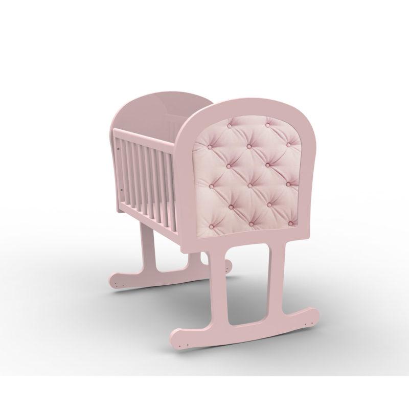 Bebecar Trama Luxury Crib Pink
